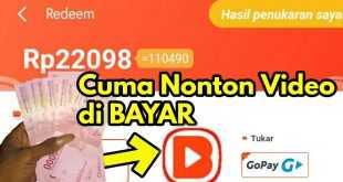 7 Aplikasi Penghasil Uang Dengan Menonton Video 2021