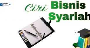 ciri bisnis syariah