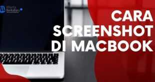 Cara Screenshot di macbook