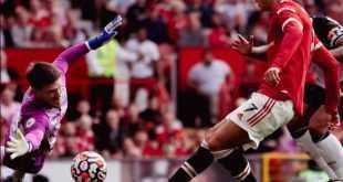 Cristiano Ronaldo Cetak Gol Perdana