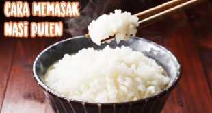 cara memasak beras pulen