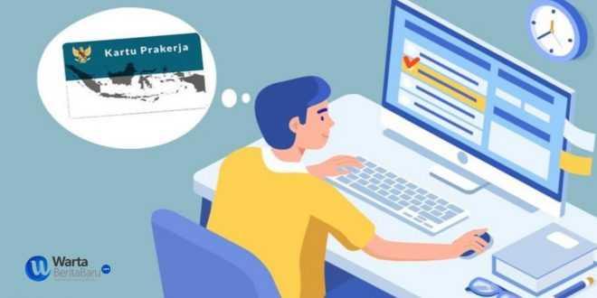 kartu prakerja 2021, dilengkapi pencarian lowongan kerja