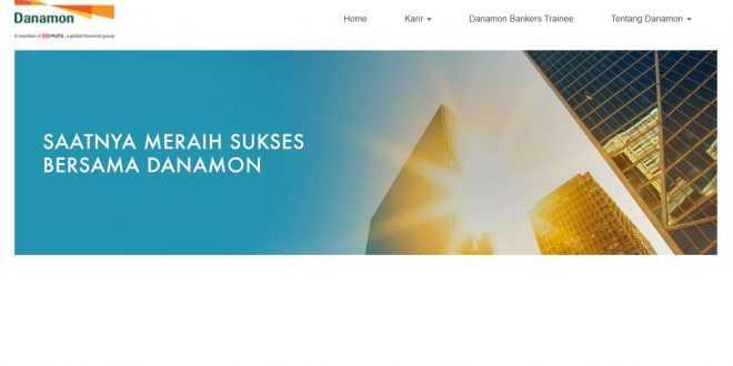 Bank Danamon Membuka Lowongan Kerja Mula D3 Hingga S1