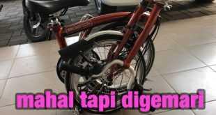 Mengapa Sepeda Lipat Brompton Mahal