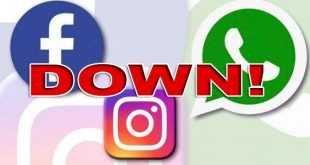 WA, FB Eror, serta IG Down